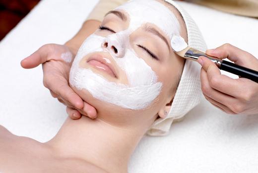 Organic elements facial mask love calm