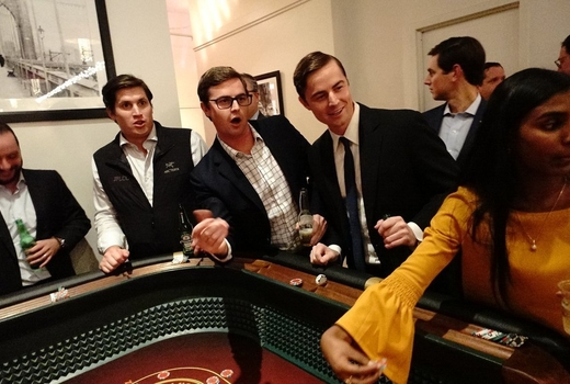 Big deal casino speakeasy party friends playing games