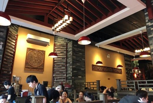 99 favor taste inside high ceilings wow