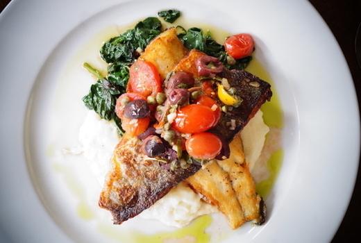 Copinette fish foodie yum