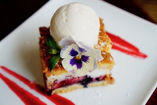 Copinette dessert sweet flowers