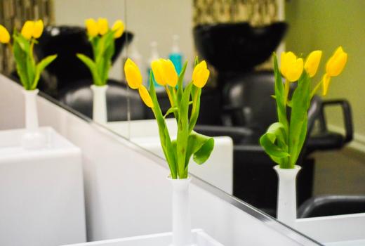 Brazil rio tulips inside decor