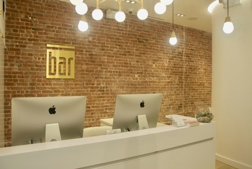 Bar method noho inside front desk