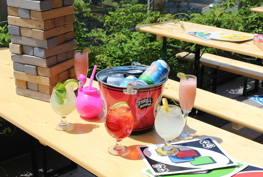 Clinton hall rooftop mdw rooftop drinks