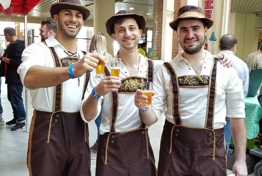 2019 craft brew festival men german