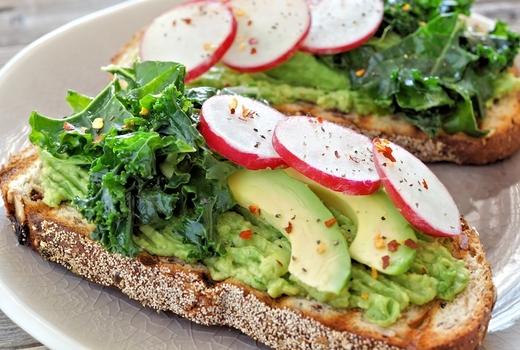 Lamias fish market avocado toast nyc