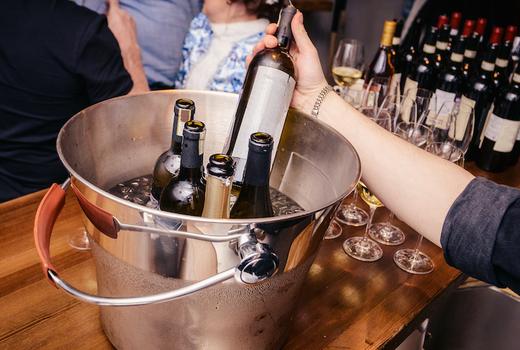 New york wine festival bottles love