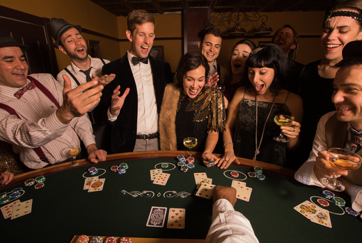 Big deal casino night 20s theme