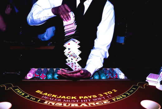 Big deal casino speakeasy party chuffle cards wow