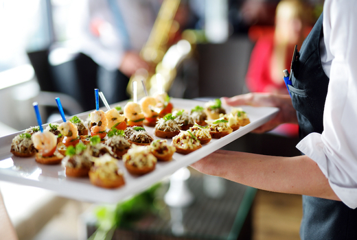 Champagne oysters cruise eats apps