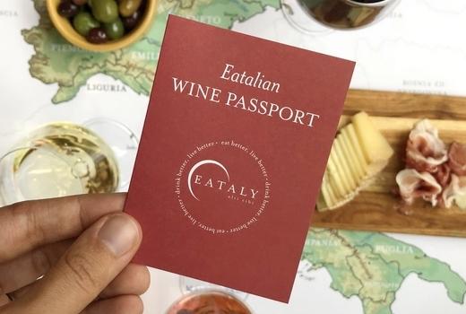 Eataly passport main