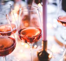 New york wine events dinner setup