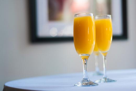 Park avenue tavern mimosas drink