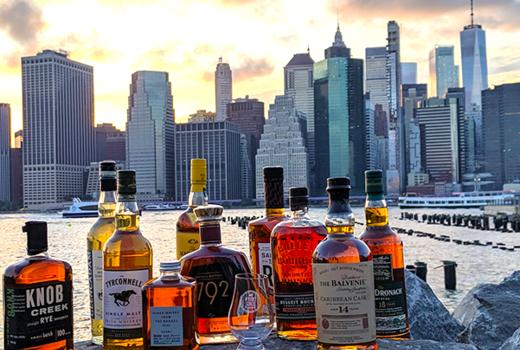 Whiskey guild views skyline