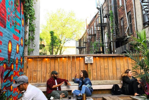Autumn tippler outside patio father knows best