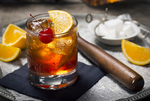 Autumn tippler cherry old fashioned
