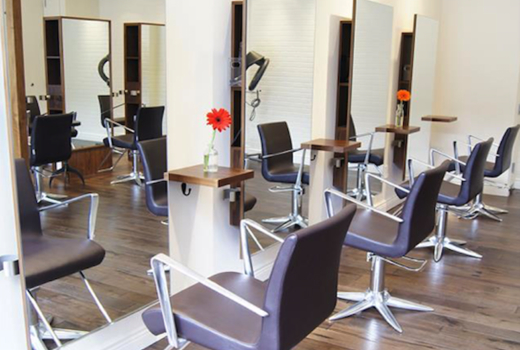 Salon wave nyc chairs inside