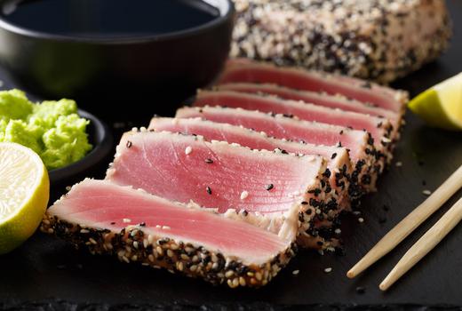 Park evenue tavern tuna sesame