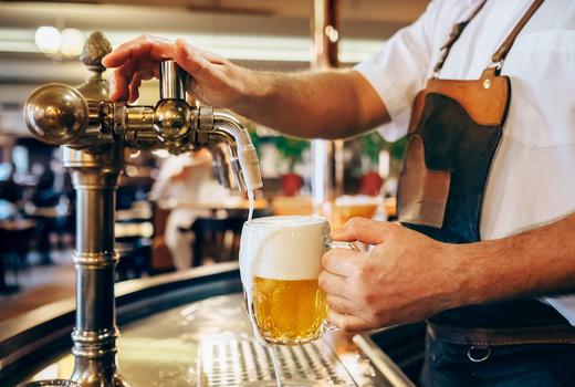 99 favor taste beer tap pour
