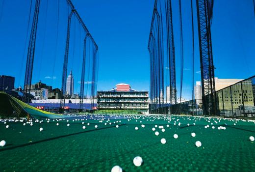 Chelsea piers balls green