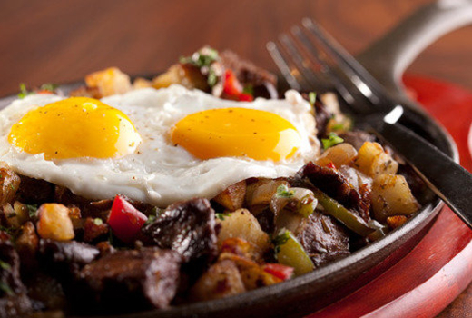 Cantina royal eggs entree authentic