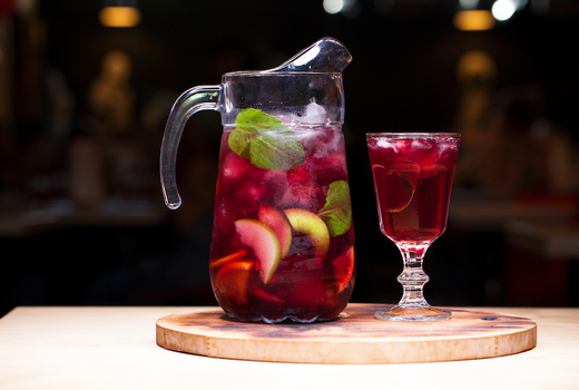 Poco dinner sangria pitcher