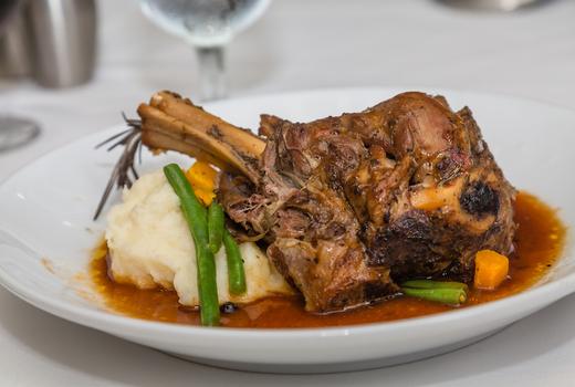 Eros lamb shank meat