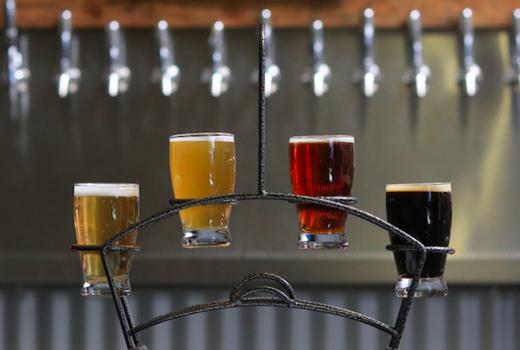 Nyc craft beer fest beer flight