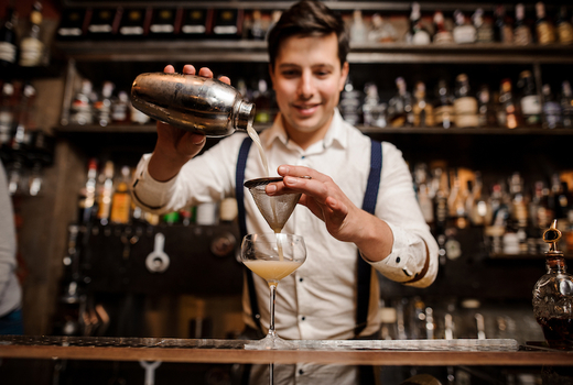 Jersey craft distillery festival nyc bartender pour