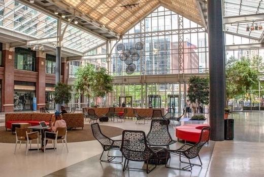 2019 craft brew festival inside atrium
