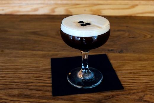 Jackdaw drinks coupe martini