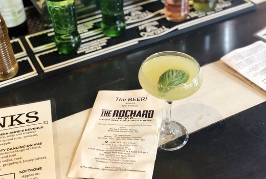 The rochard cocktails green sips