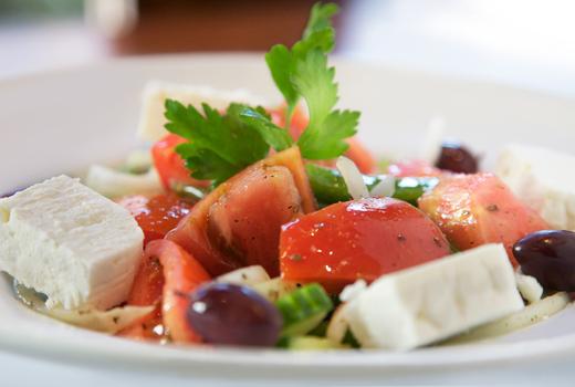 Yefsi greek salad delicious
