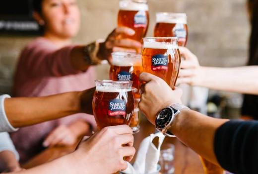 Beer tippler cheers drinks fun