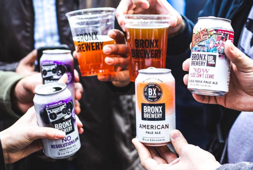 Beer tippler bronx brewery cans