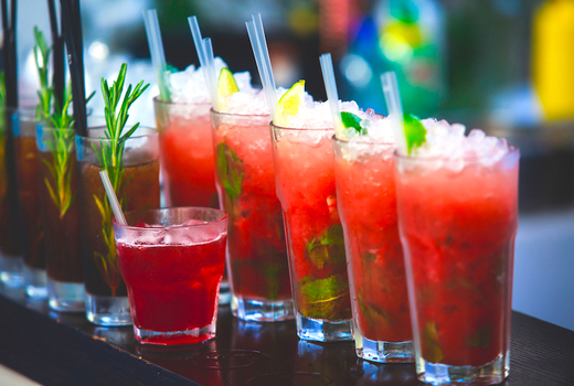 Villa cemita day of the dead lineup red drinks