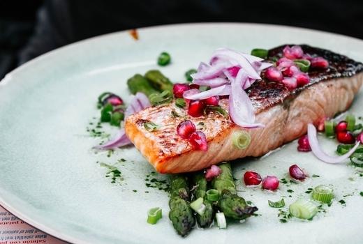 Tara rose salmon pink eats