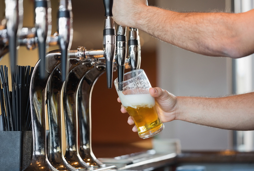 Tara rose beer tap