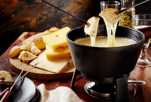 Mondrian terrace alpine terrace fondue