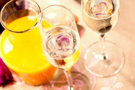 Fornino brunch mimosas orange juice