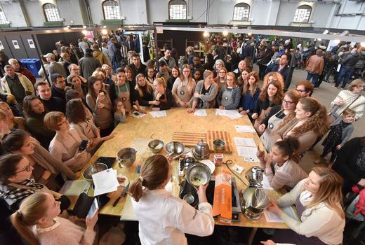 Salon du chocolat workshop
