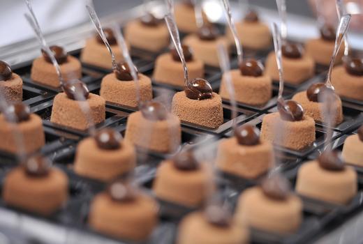 Salon du chocolat tasting delicious