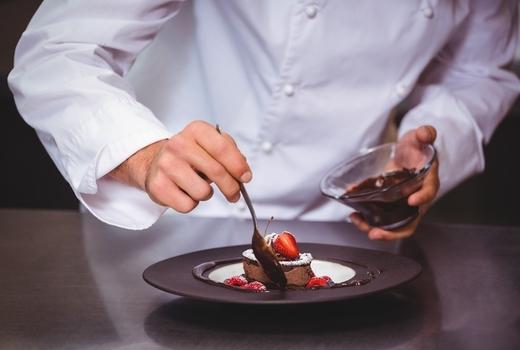 Salon du chocolat chef making eats1