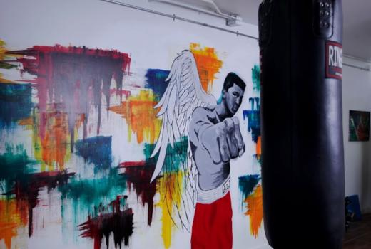 Hudson boxing gym inside