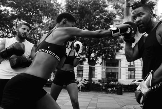 Hudson boxing gym outside
