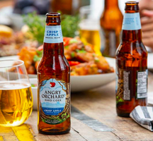 Fruit grain beer angry orchards