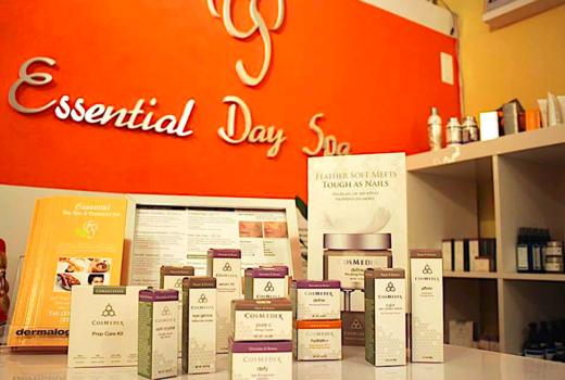 Essential day spa cosmedix