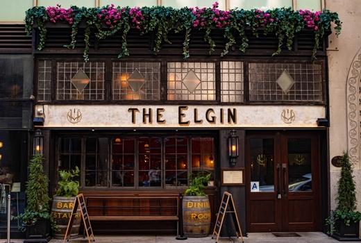 Elgin brunch outside