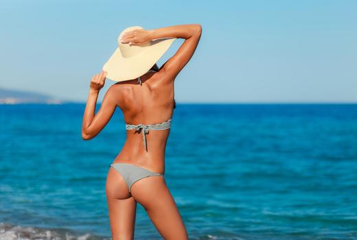 Shapehouse woman bikini strong back
