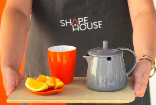 Shapehouse oranges tea